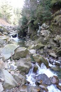 Каскад водопадов на р. Каменка