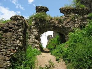 Замок в г. Хуст, Закарпатье